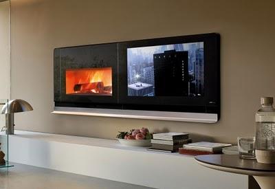 Aufkurs88 Com Blog Archive Flat Screen Tv Und Kamin In Einem